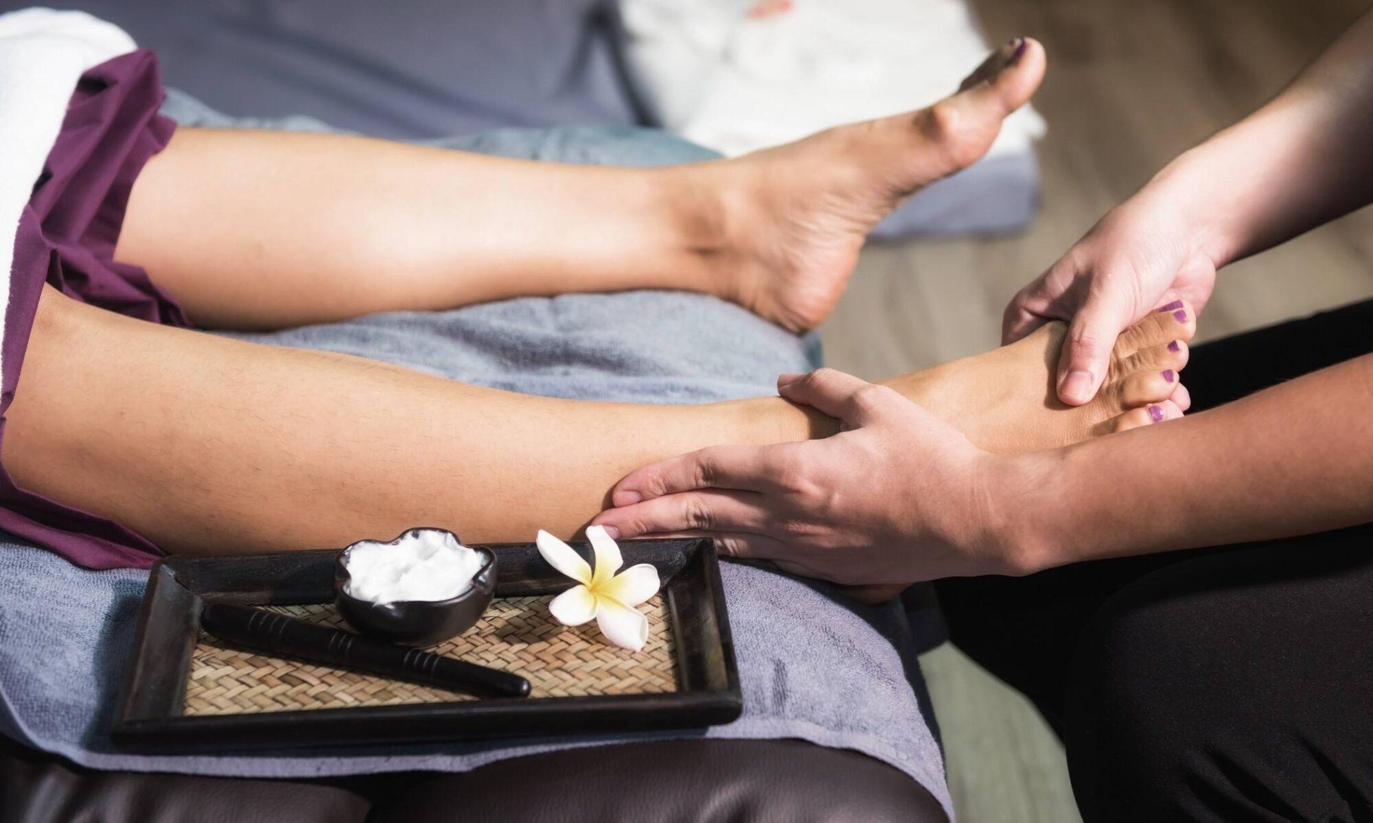 masaje para pies de diabéticos