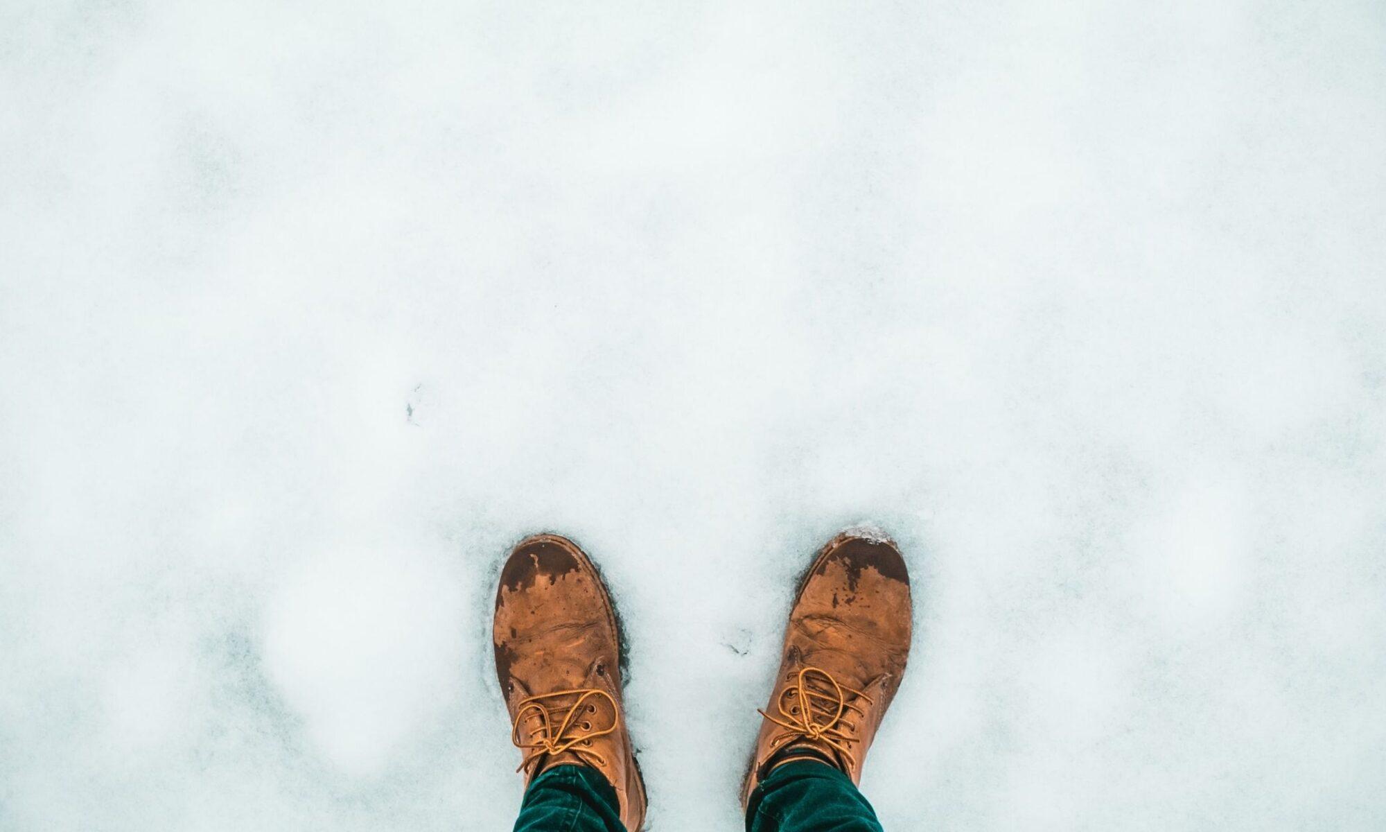 Pies fríos por la nieve