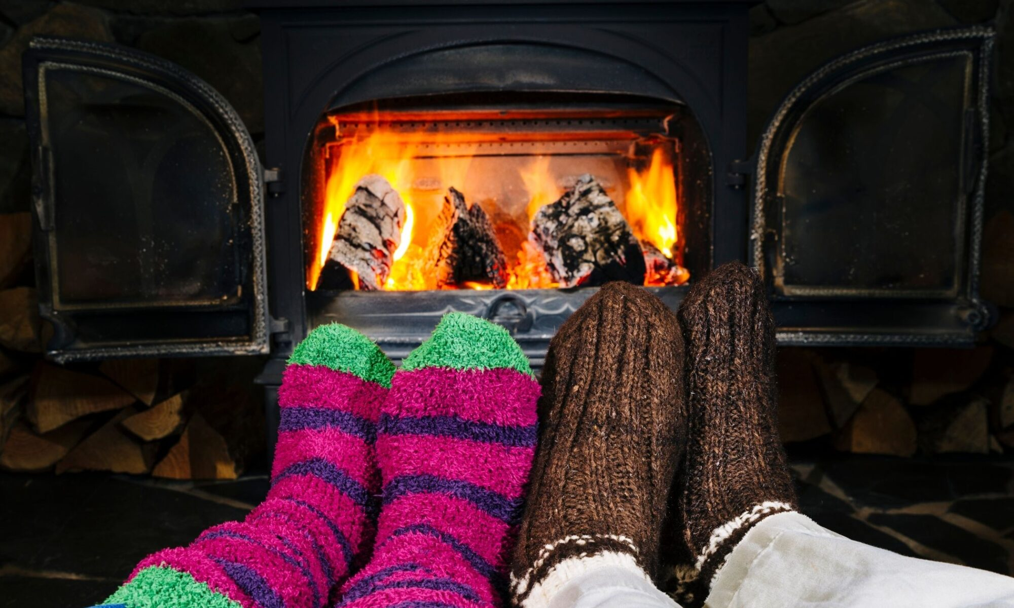 Las estufas producen sabañones en los pies